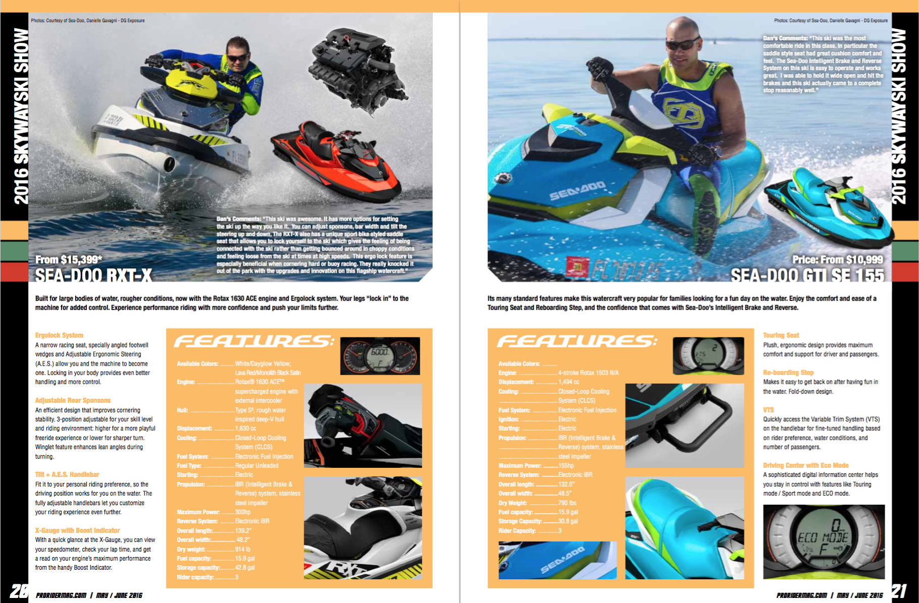 Pro Rider Watercraft Magazine Featured Articles | Pro Rider