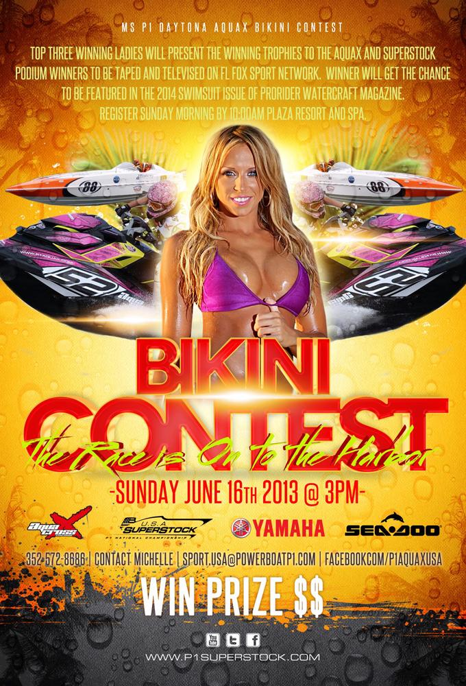 AquaX Bikini contest
