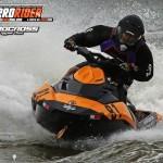 Brad Clark aboard their Orange Crush Spark racing the 2014 Hydrocross Tour.
