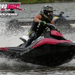 Kevin Wassum's Bubble Gum Spark racing the HYdrocross Tour