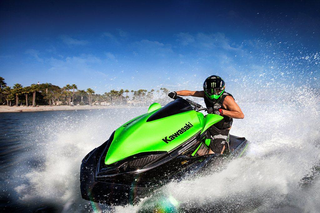 Merveilleux Monster Energy Kawasaki JetSki SX R Plastic Moto 2013 | El Tony