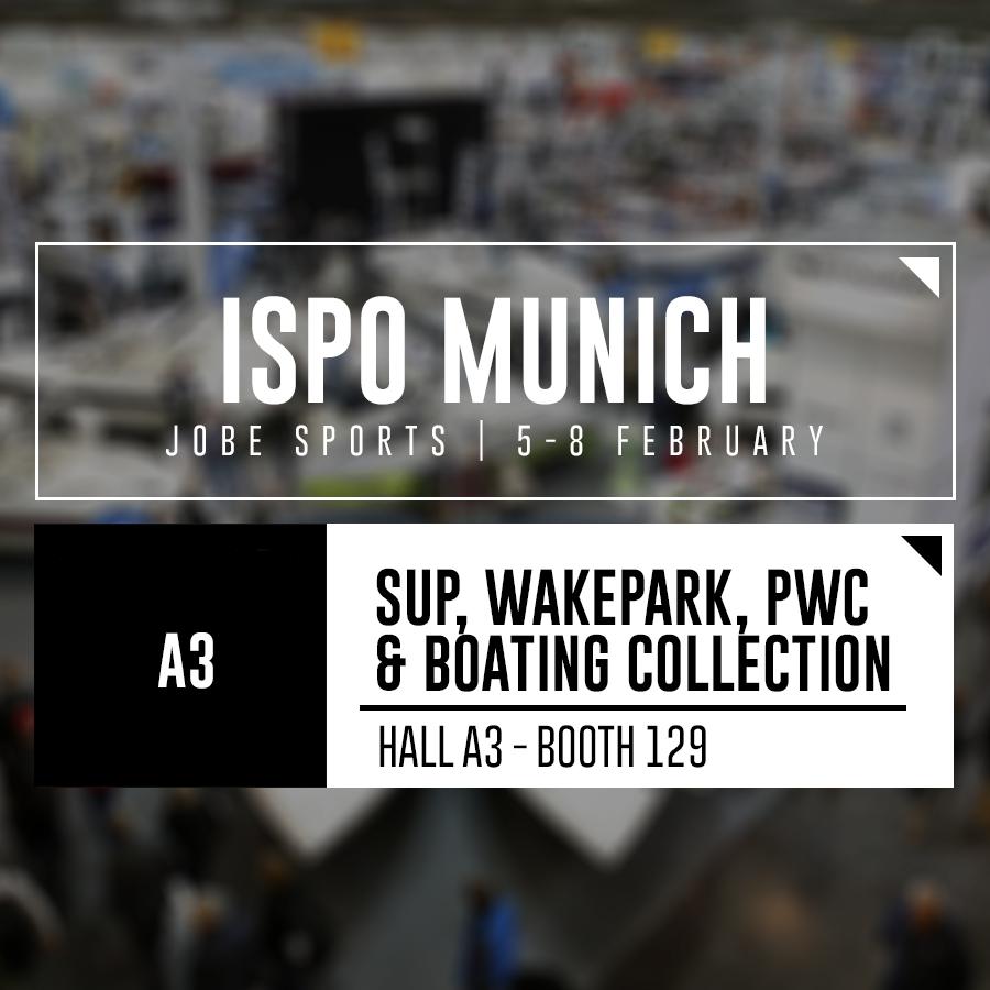 Jobe present at ISPO Munich graphic