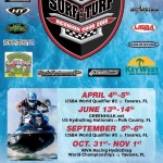 The opening 2 rounds of the Surf and Turf Reunion Tour will be held on April 4-5, which will feature two IJSBA sanctioned Closed Course World Finals Qualifiers, Pro Freestyle, Flyboard Demos, and More
