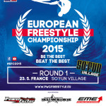 Round 1 of 2015 European Freestyle Championship in France this Saturday!