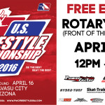 Press Release: official schedule of West Coast Round of 2016 IJSBA U.S. Freestyle Championship / April 16th / Lake Havasu City, Arizona