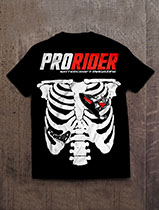 Pro Rider Watercraft Magazine Rib Cage T-Shirt