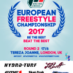 Official schedule of Round 2 of 2017 P1 Racing Fuels European Freestyle Championship sanctioned by IJSBA / June 17th / London , U.K.