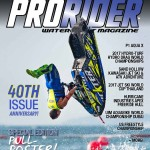Pro Freeride and Freestyle World Champion Mark Gomez to be featured on the 2018 January/February 40th print and digital anniversary issue of Pro Rider Watercraft Magazine!