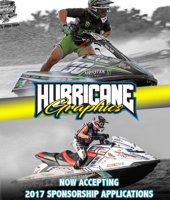 Hurricane Industries 2017 sponsorship now open!