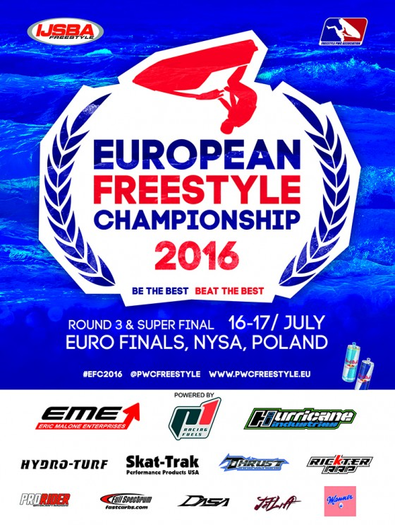 Press Release: Round 3 & Super Final of 2016 IJSBA European Freestyle Championship this Weekend