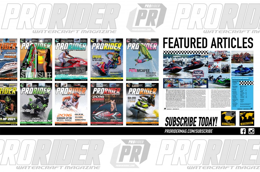 Pro Rider Watercraft Magazine Featured Articles