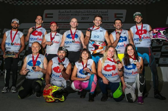 SHARJAH SERVES UP A FITTING FINALE TO CLOSE OUT THE UIM-ABP AQUABIKE SEASON