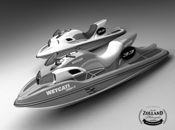 Ducati Style Watercraft with Twin Ducati 1098 Engine….say what?