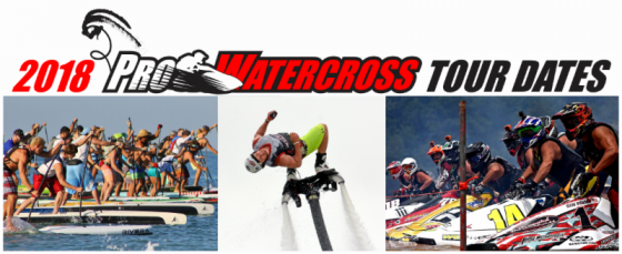 2018 PRO WATERCROSS TOUR DATES