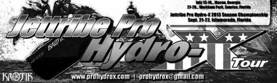 Pro Hydro-X Tour Schedule