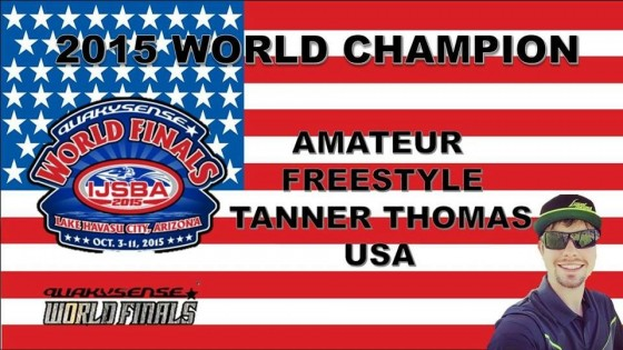 Tanner Thomas Wins World Championship!