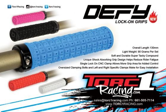 TORC1 Racing Defy Lock On Grips