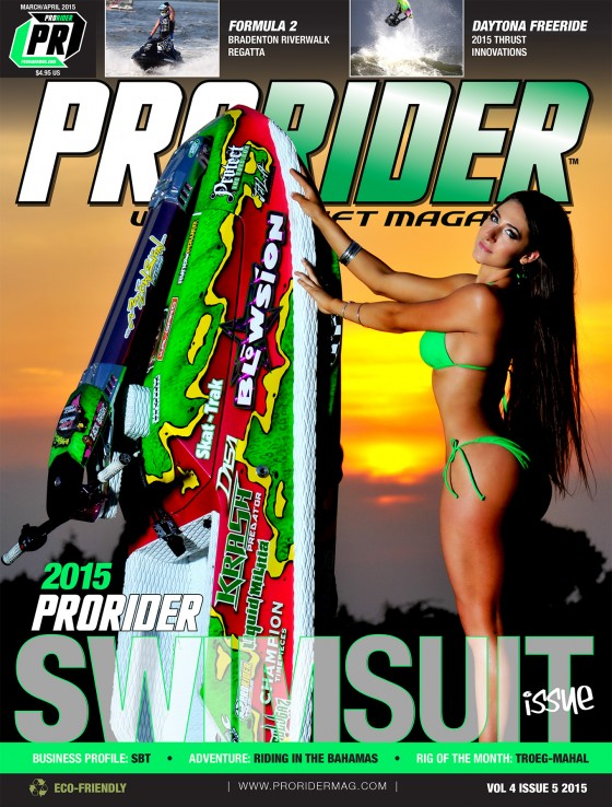 Pro Rider Watercraft Magazine 2015 March/April Swimsuit Issue Cover Release!