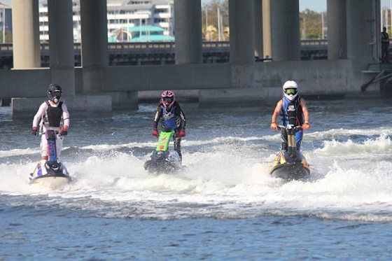 Bradenton Area Riverwalk Regatta Action-Kawasaki Florida Winter Championships/Mayors Cup Presented by Watercraft Superstore