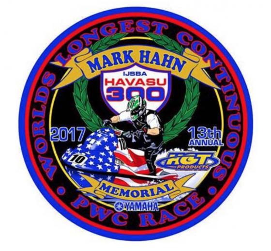 Mark Hahn 300 2017 Thank You!
