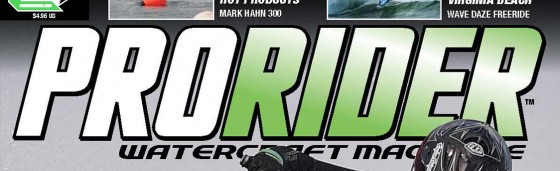 Australian Kawasaki Team to be Featured on the Cover of the 2015 Spring PWC Review May/June Issue of Pro Rider Watercraft Magazine