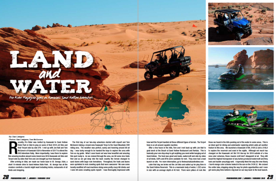 Land and Water – Pro Rider goes on a Kawasaki Sand Hollow Adventure!