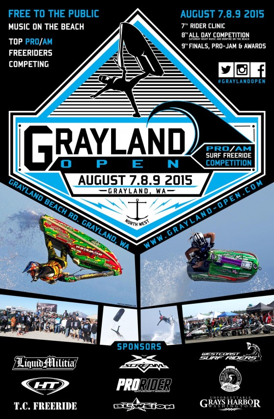 2015 Grayland Open Amateur Freeride Nationals, 2015 Television Programming and Media Coverage