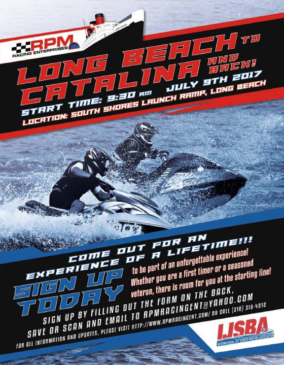 2017 Long Beach to Catalina & Back (LB2CAT) IJSBA Offshore Endurance National Championships