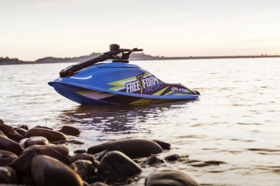 World's First Electric, Stand-up Personal Watercraft Hits the Market  Free Form Factory introduces high-performance, all-electric Gratis X1