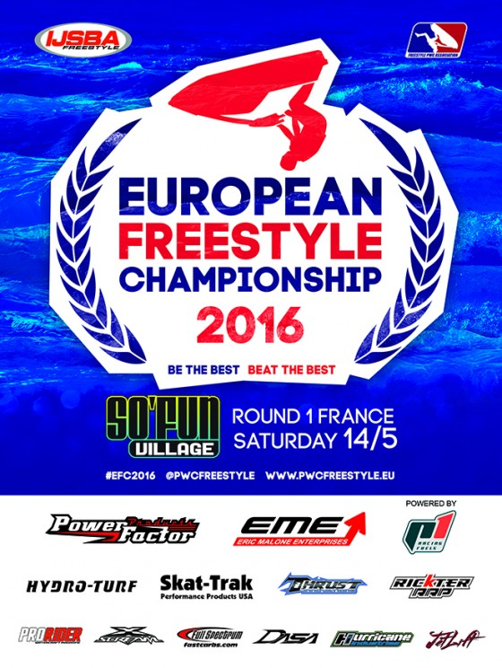 Round 1 of 2016 IJSBA European Freestyle Championship this Saturday
