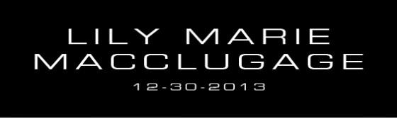 Congratulations MacClugage Family