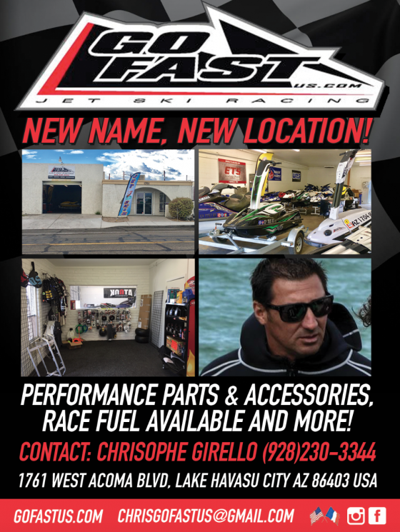 Pro Rider Watercraft Magazine​ is proud to announce partnership with GoFast Us