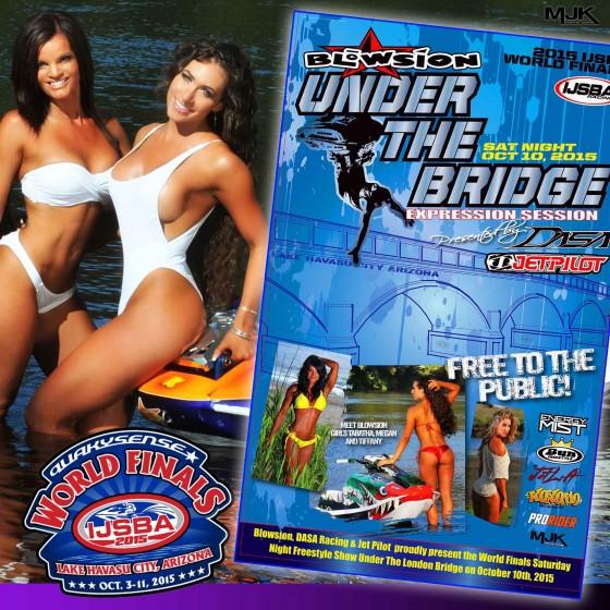 Blowsion Under the Bridge World Finals Freestyle!