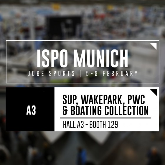 Jobe present at ISPO Munich