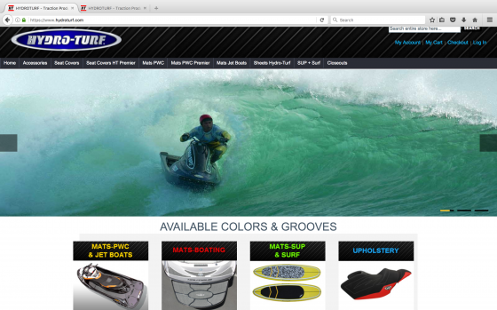 New Hydro-Turf Website Launch Special