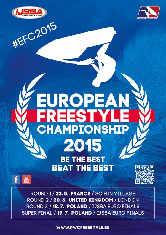 Official dates of 2015 European Freestyle Championship