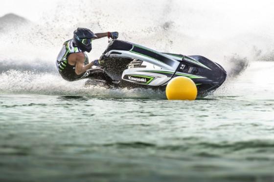 KAWASAKI JET SKI® SX-R™ WATERCRAFT PREPARED TO RACE IN 2017